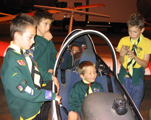 Cubs from 194th gain Aviation Badge