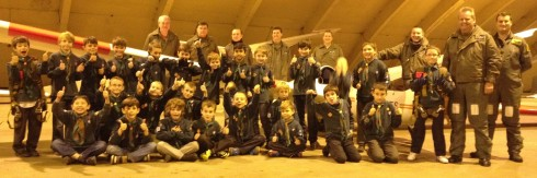 67th Kingswood Cubs at 621VGS, 25th November 2013.