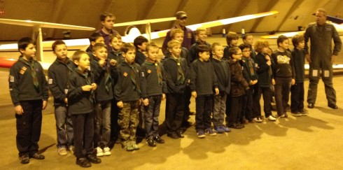 67th Kingswood Cubs at 621VGS, 28th November 2013.